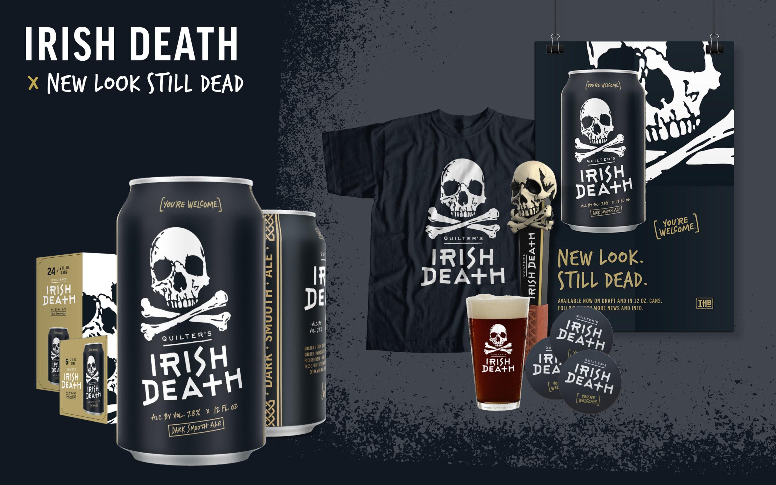Irish death rebranded look